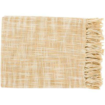 Phoebe Butter Cotton Throw