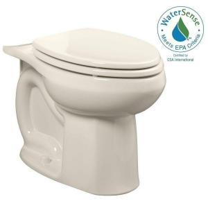 American Standard Colony Universal 1.28 or 1.6 GPF Elongated Toilet Bowl Only in Linen by American Standard