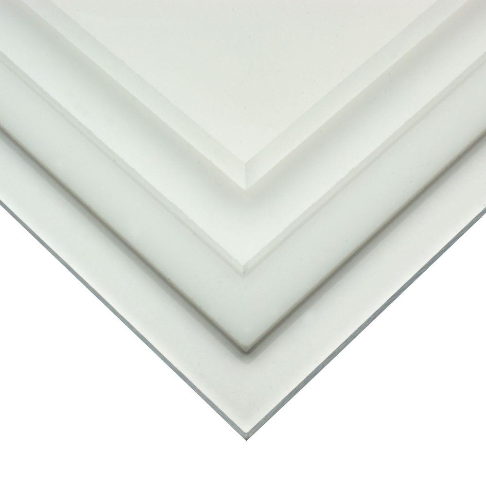OPTIX 36 in. x 30 in. x .093 in. Acrylic Sheet-MC-06 - The Home Depot