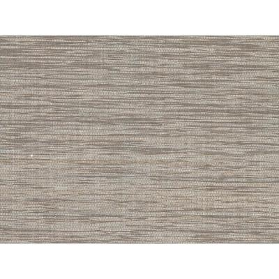 72 sq. ft. Cavite Grey Grass Cloth Wallpaper