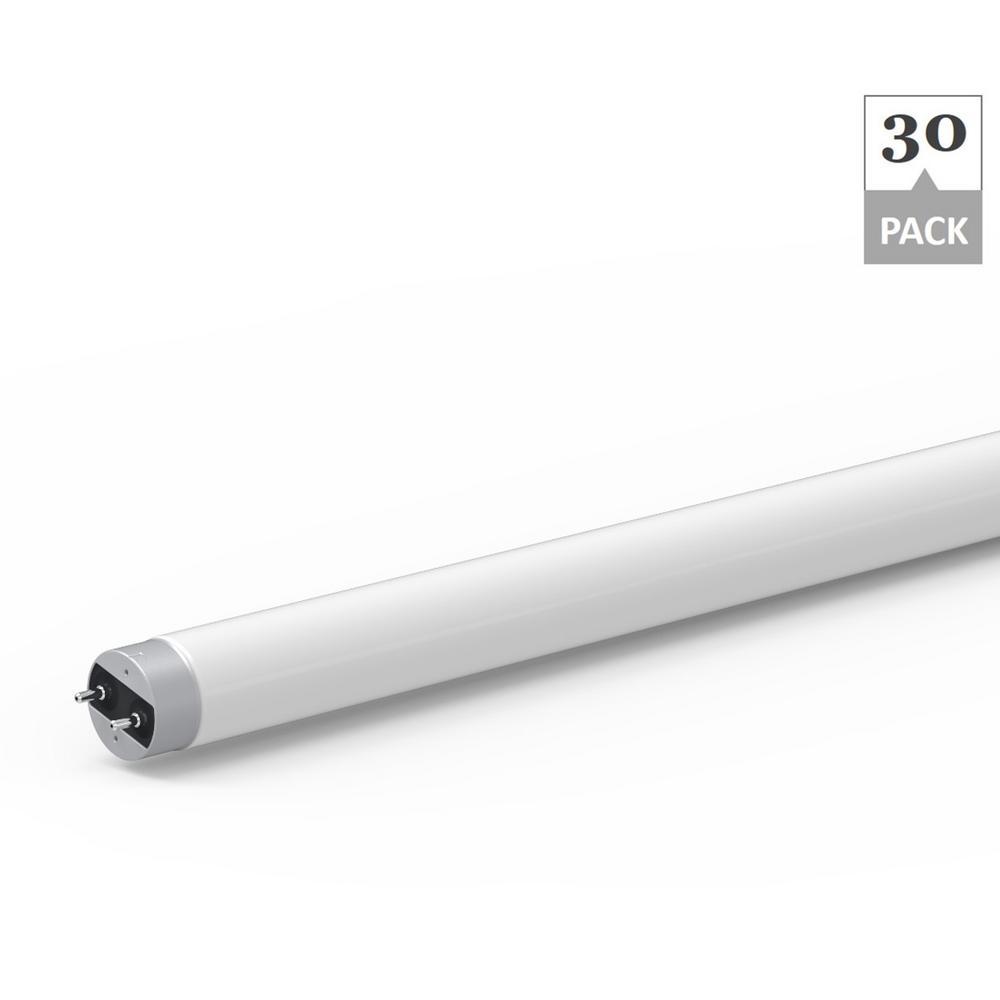 Simply Conserve 14-Watt 4 ft. Linear T8 LED Light Bulb Cool White (30-Pack)