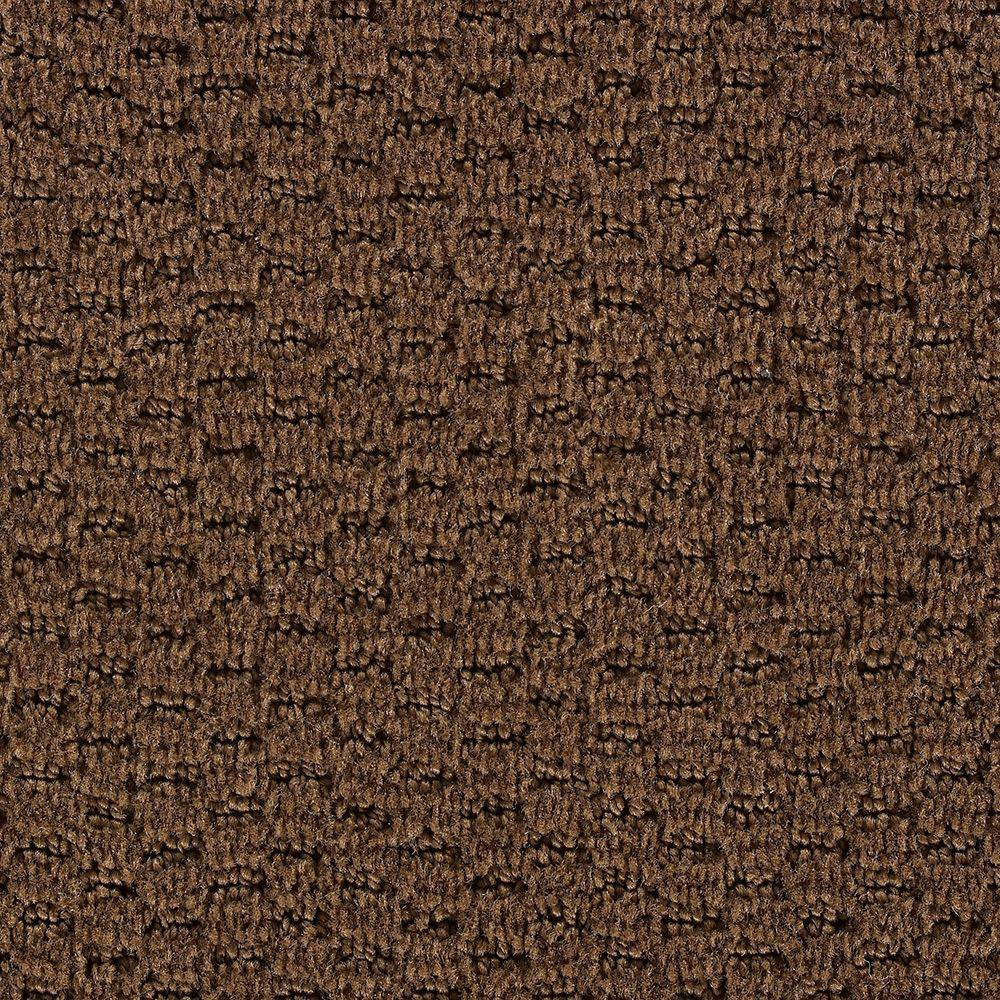 Martha Stewart Living Sandringham Nutmeg - 6 in. x 9 in. Take Home Carpet Sample