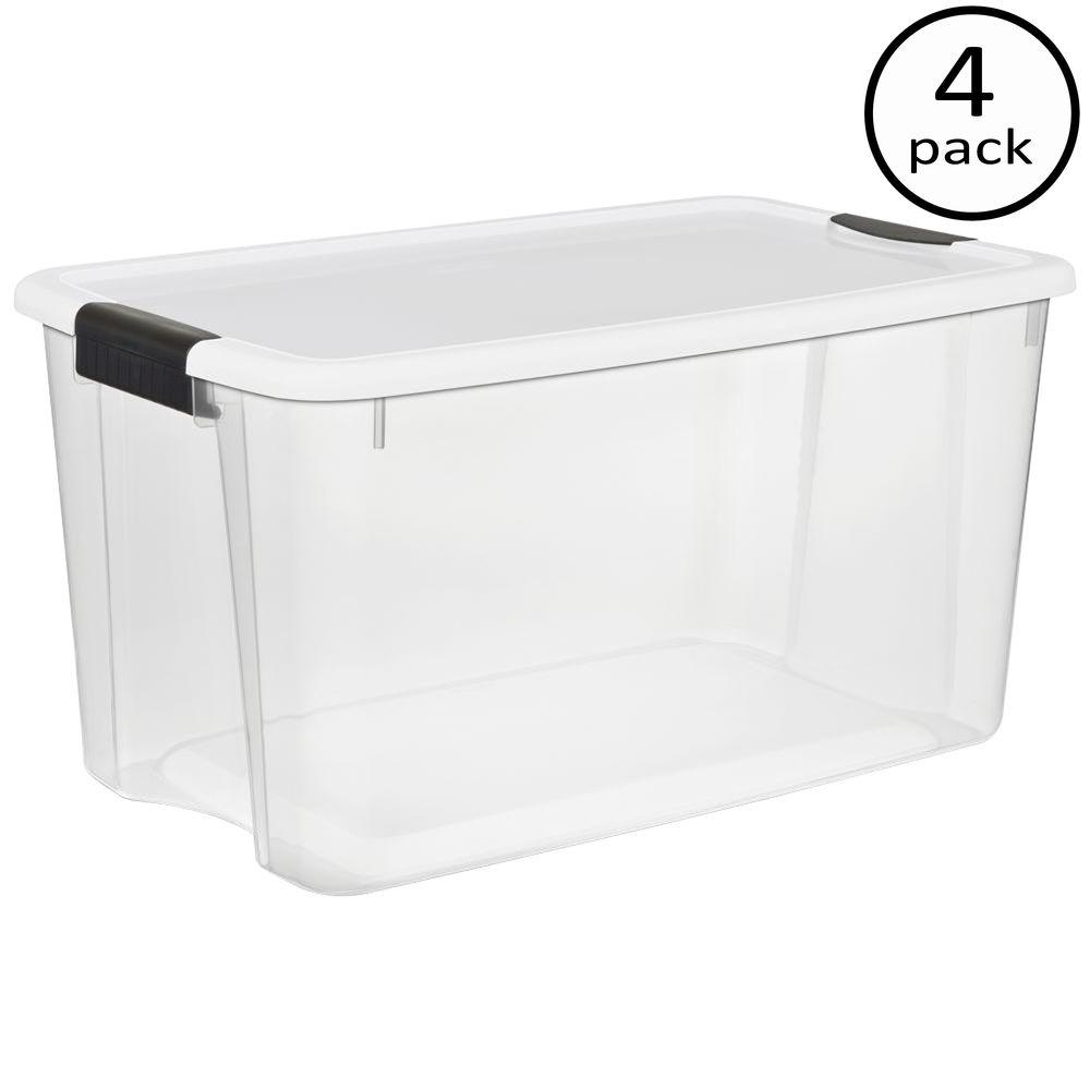sc 1 st  The Home Depot & Sterilite 70 Qt. Ultra Storage Box-19888604 - The Home Depot
