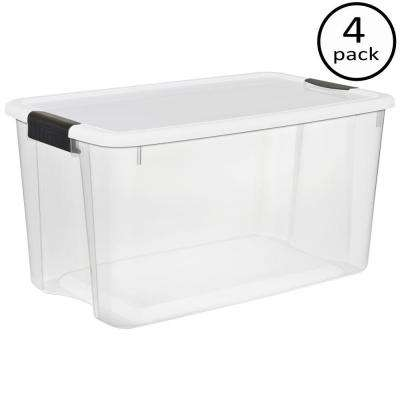 70 Qt. Ultra Storage Box (4-Pack)