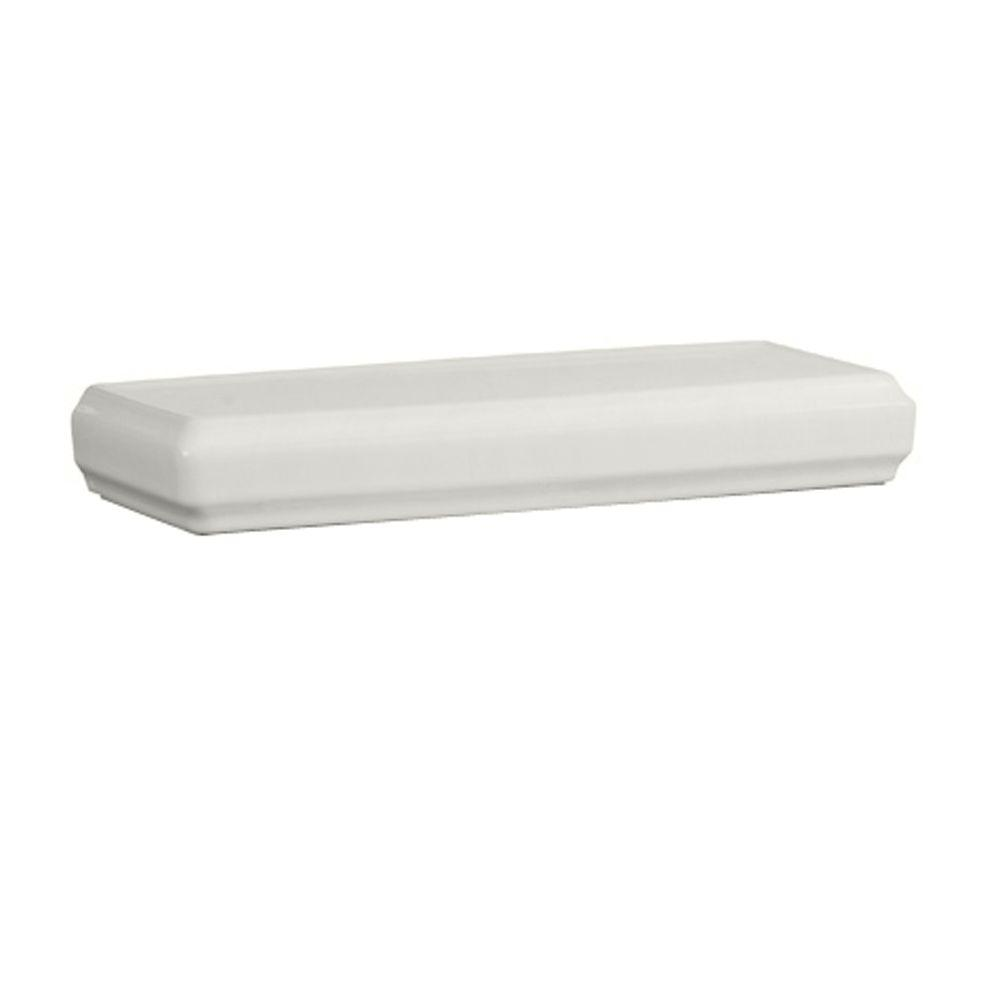 Town Square LXP Toilet Tank Cover in White