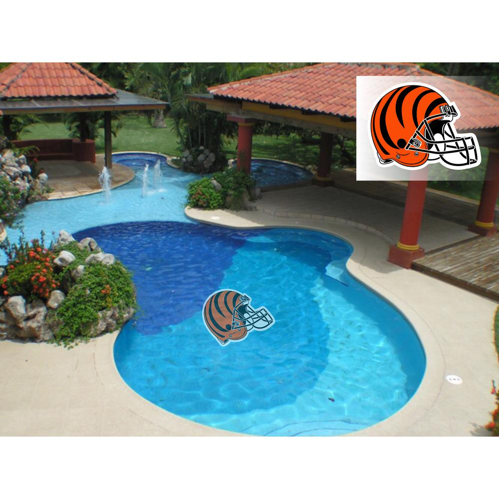 Applied Icon Nfl Cincinnati Bengals 29 In X 29 In Small Pool