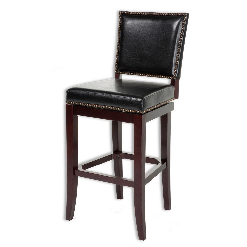 Fashion Bed Group 30 In Sacramento Wood Bar Stool With