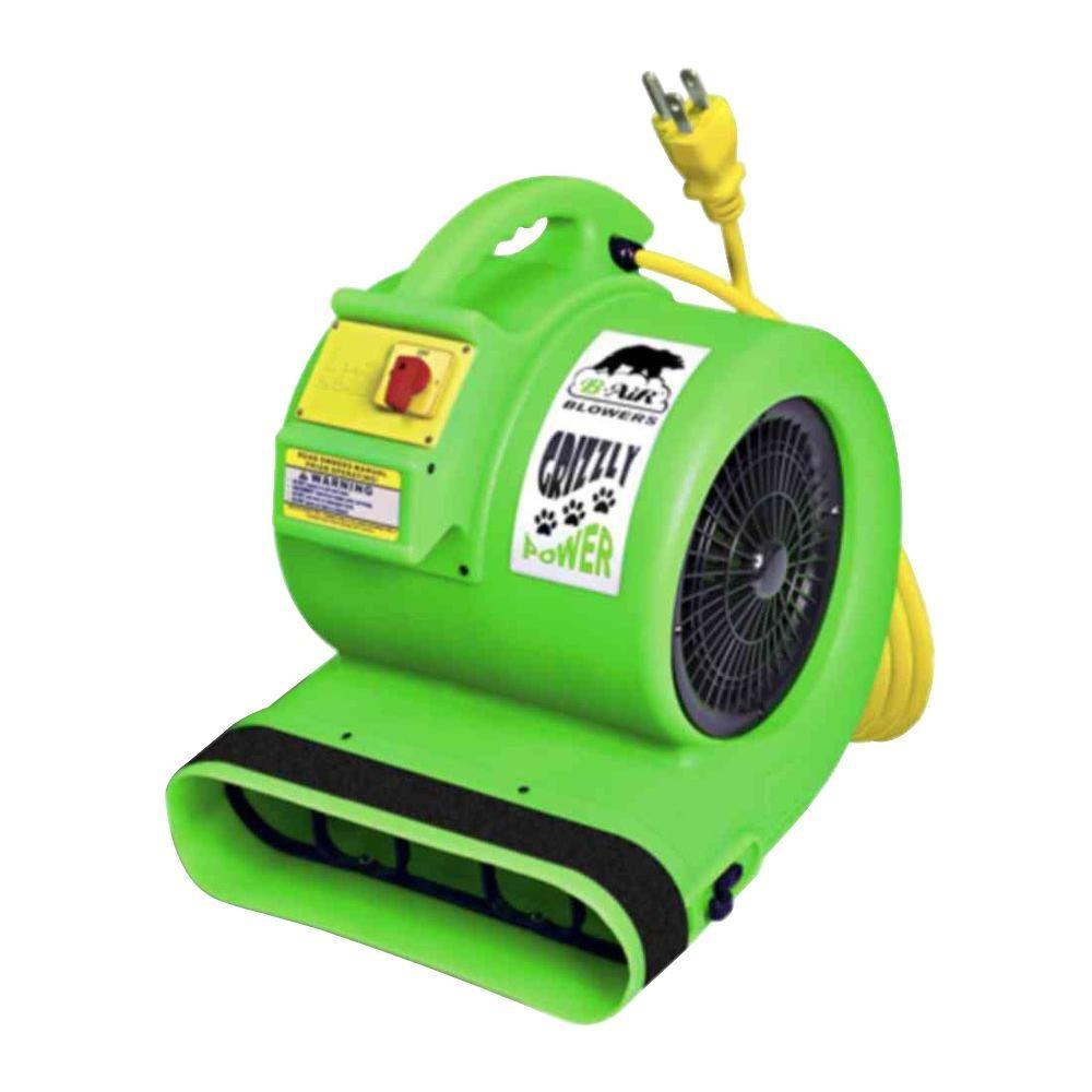 B-Air High-Velocity 3-Speed 3550 CFM Air Mover-Carpet Dryer-Floor Dryer
