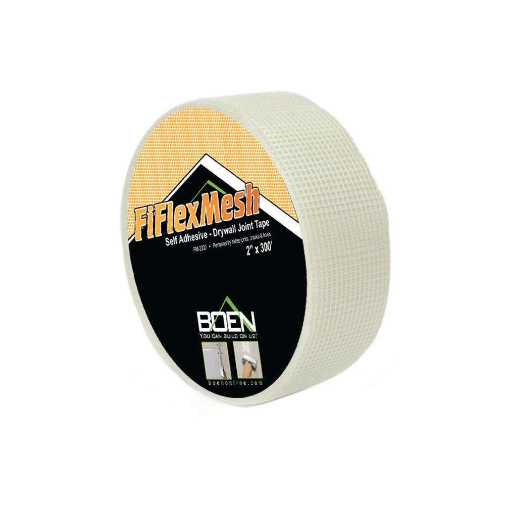 BOEN 2 inch x 150 ft. Fiberglass Drywall Mesh Joint Tape (24-Box) FM-215024 by BOEN