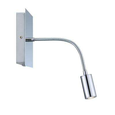 Lire 1-Light Chrome LED Sconce