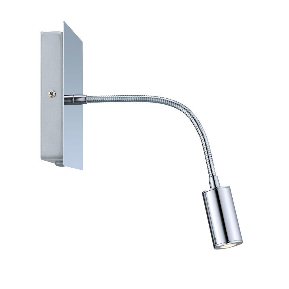 null Lire 1-Light Chrome LED Sconce
