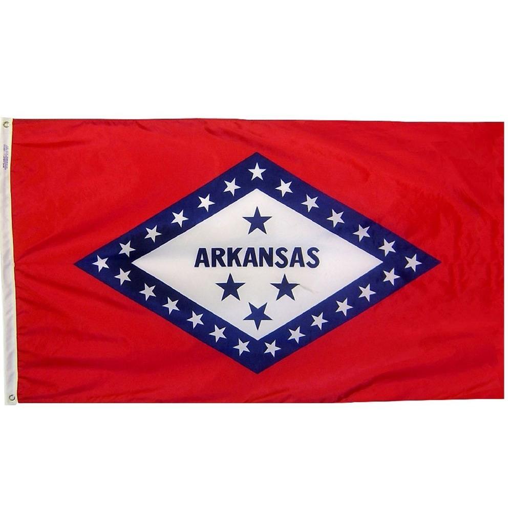 4 ft. x 6 ft. Arkansas State Flag