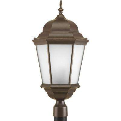 Welbourne Collection 3-Light Antique Bronze Post Lantern