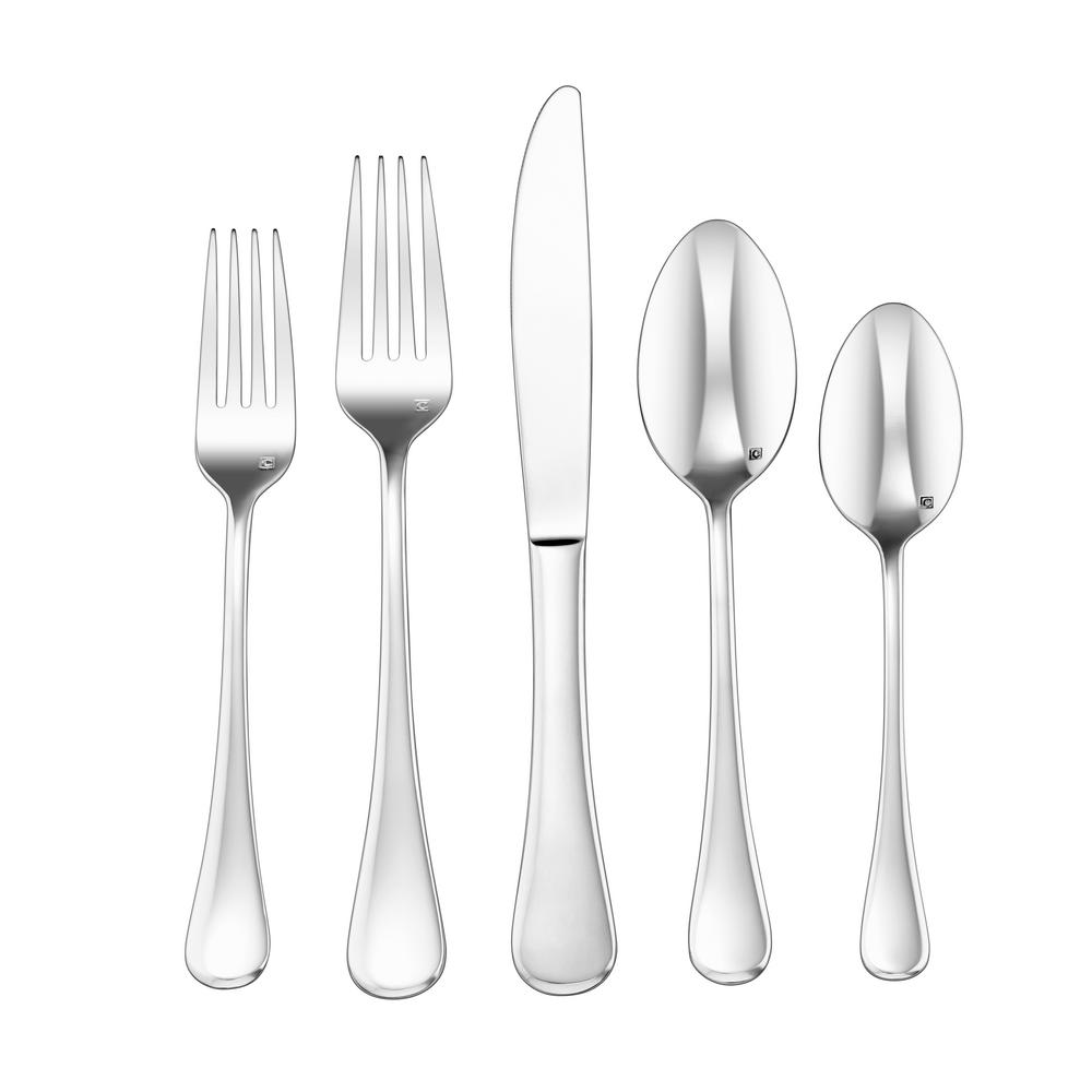 Elite 20-Piece Milan Flatware Set