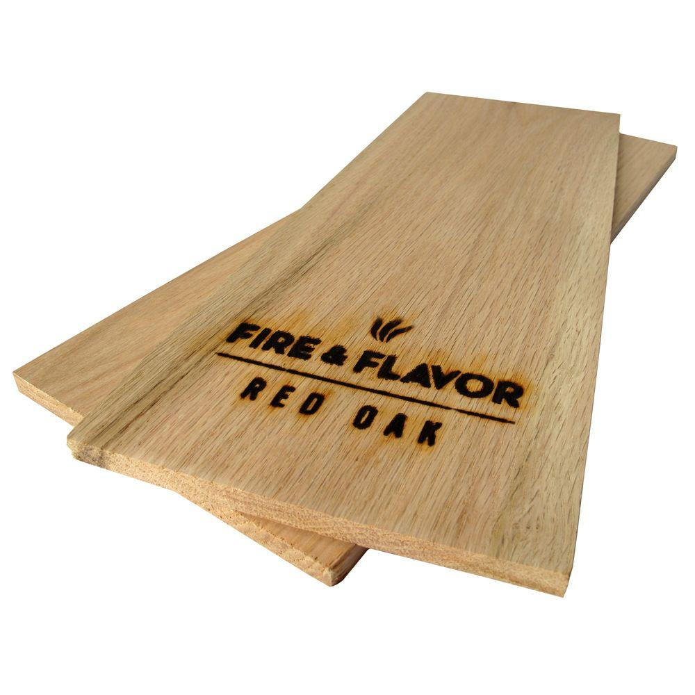 Fire & Flavor Red Oak Grilling Planks -DISCONTINUED