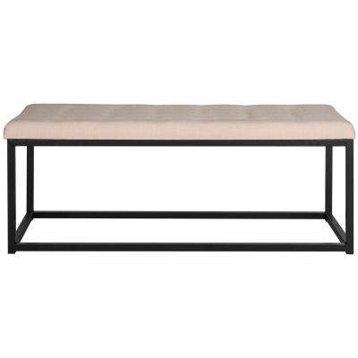 Reynlds Beige/Black Bench