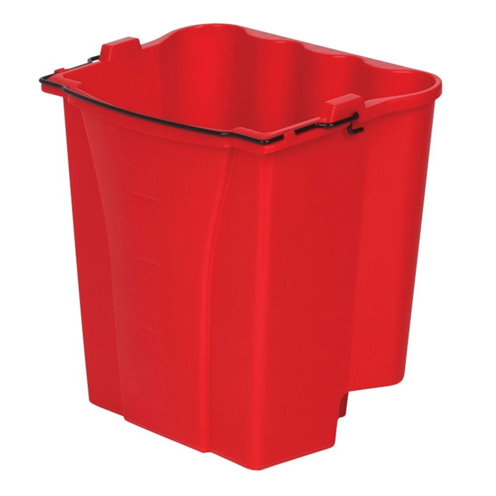 Rubbermaid Commercial Products 18 Qt. Dirty Water Bucket for 35 Qt. and 44 Qt. WaveBrake Buckets
