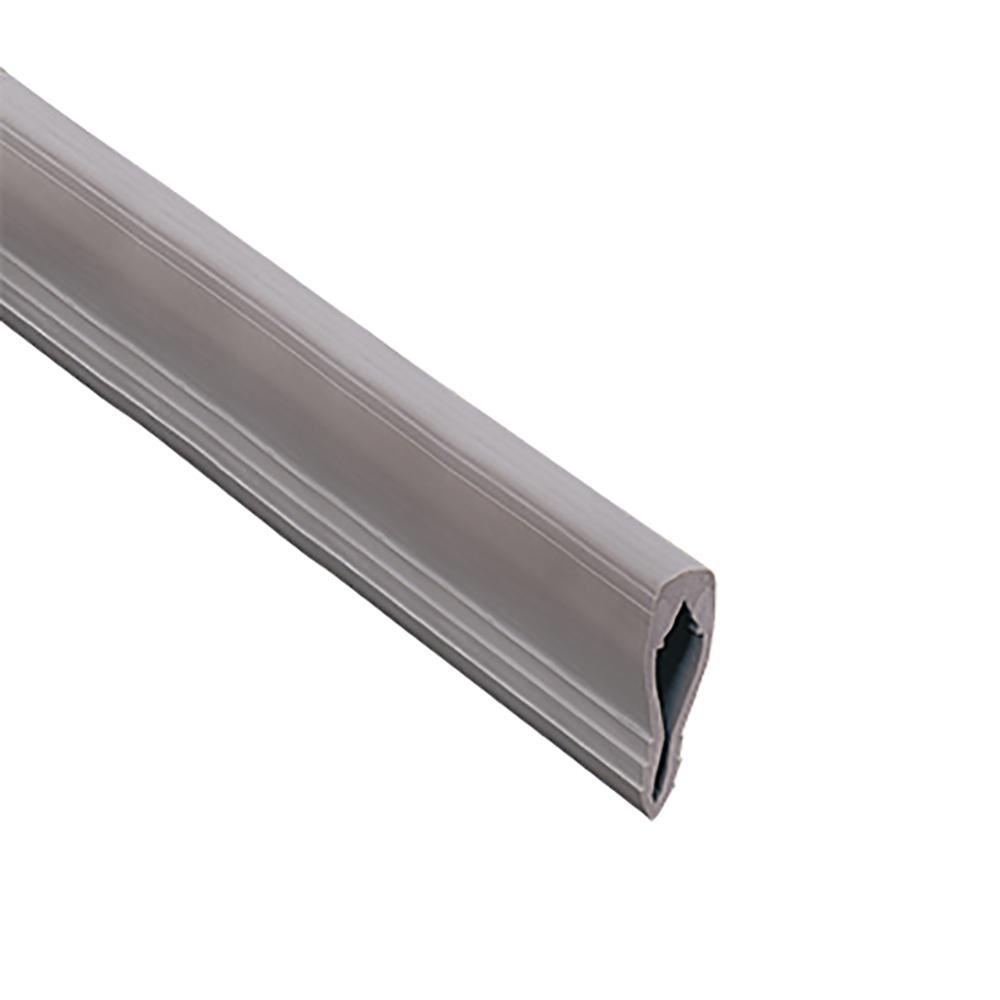 Novojunta 1 Grey 1 in. x 98-1/2 in. PVC Tile Edging