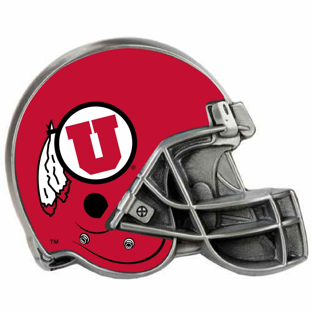 Utah Utes Helmet Hitch Cover