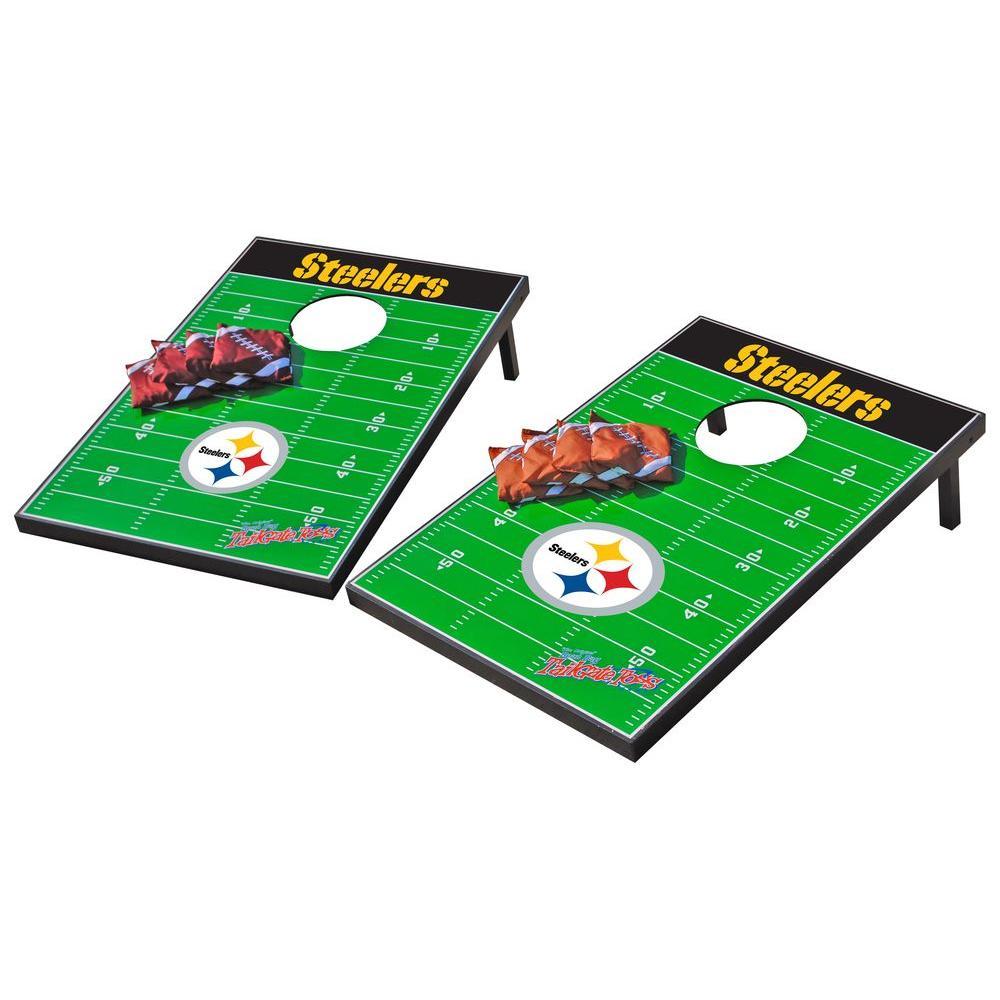 Wild Sports Pittsburgh Steelers Tailgate Cornhole Toss
