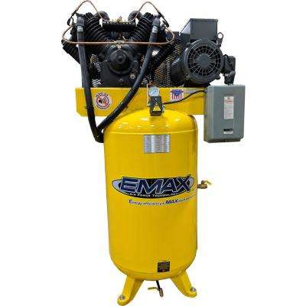 Industrial Series 80 Gal. 7.5 HP 1-Phase Silent Air Electric Air Compressor