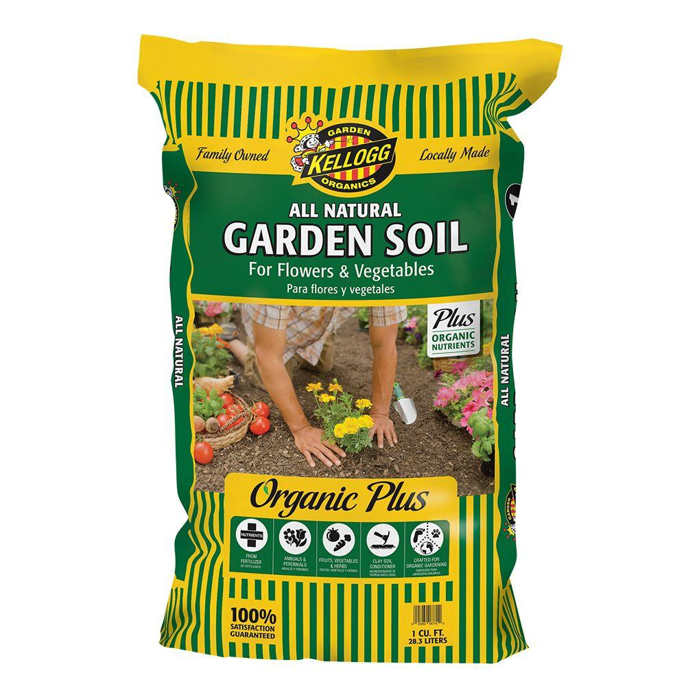 1 cu. ft. All Natural Garden Soil for Flowers and Vegetables
