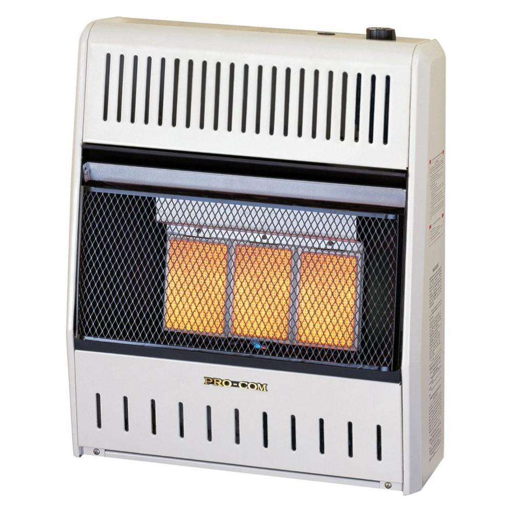 Infrared Ventless Liquid Propane Space Heater - 15,000 BTU by Electric Heaters