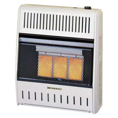 Infrared Ventless Liquid Propane Space Heater - 15,000 BTU
