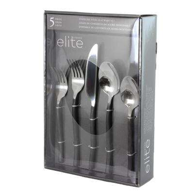 Thornsby 5-Piece Stainless Steel Flatware Set