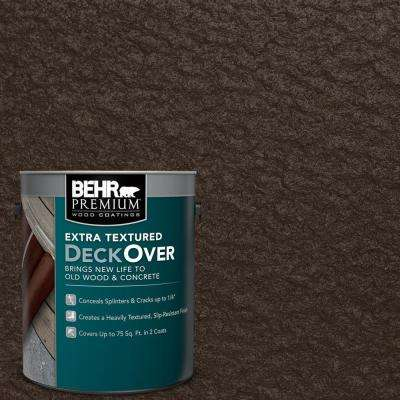 1 gal. #SC-105 Padre Brown Extra Textured Solid Color Exterior Wood and Concrete Coating