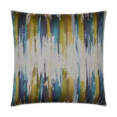 Amore Feather Down 24 in. x 24 in. Standard Decorative Throw Pillow