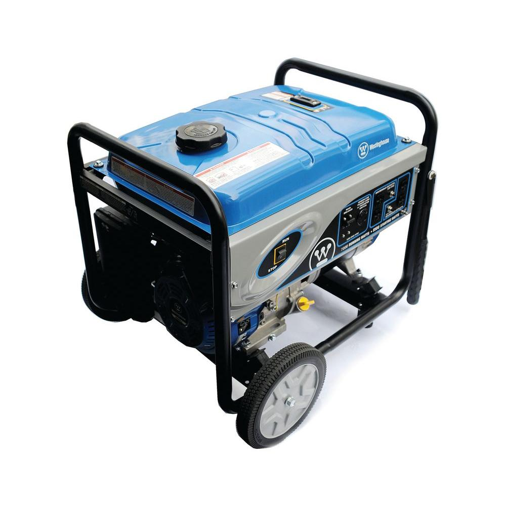 Westinghouse 7,000-Watt Gasoline Powered Portable Generator-DISCONTINUED