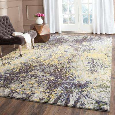 Monaco Gray Multi 7 Ft X 9 Area Rug