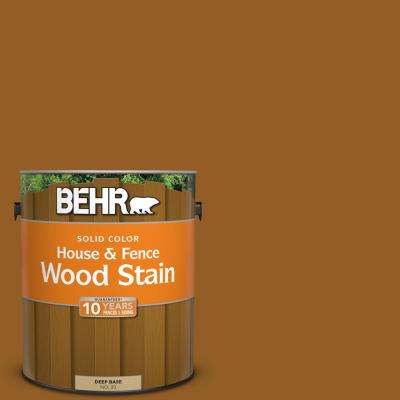 1 gal. #SC-134 Curry Solid Color House and Fence Wood Stain
