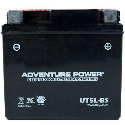 Dry Charge 12-Volt 4 Ah Capacity D Terminal Battery