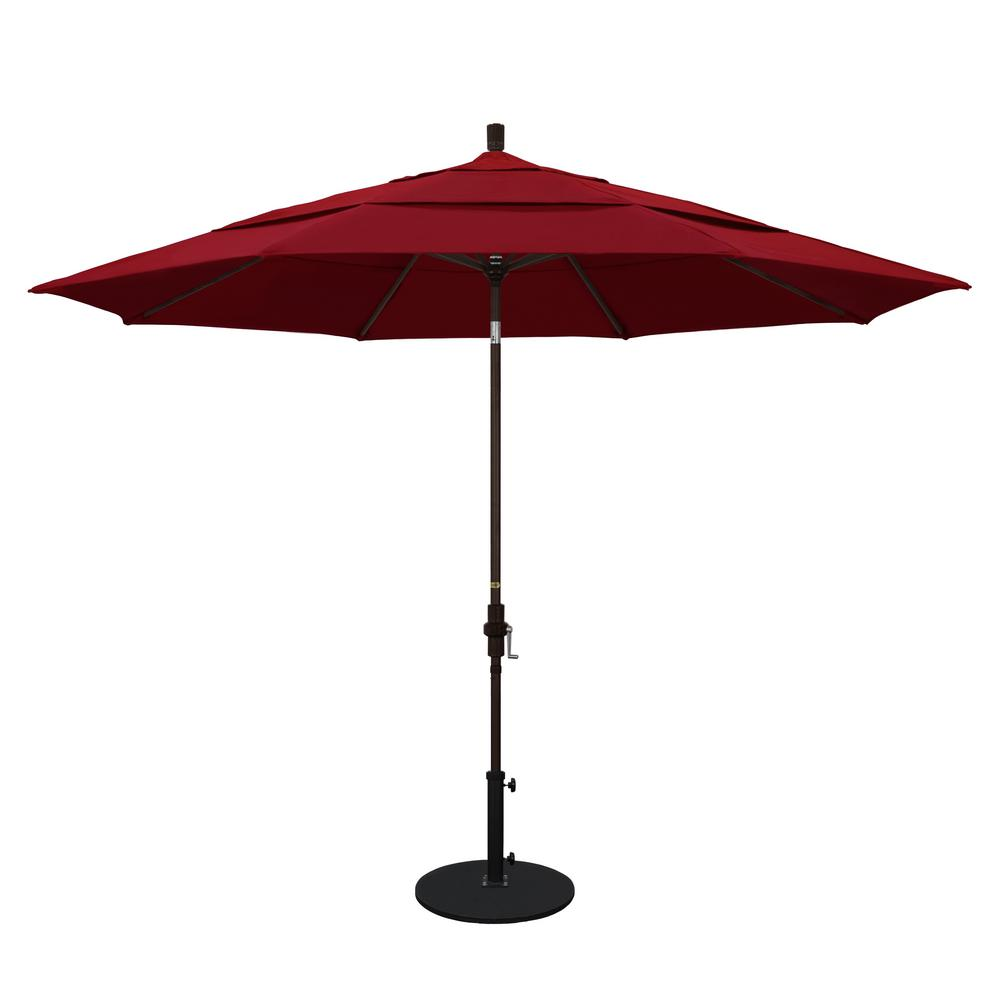 California Umbrella 11 Ft Aluminum Collar Tilt Double