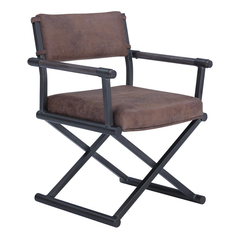Director Bandero Tobacco Fabric Dining Chair