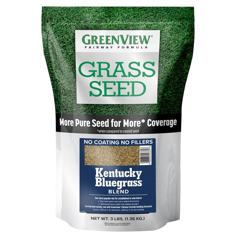 3 lbs. Fairway Formula Grass Seed Kentucky Bluegrass Blend