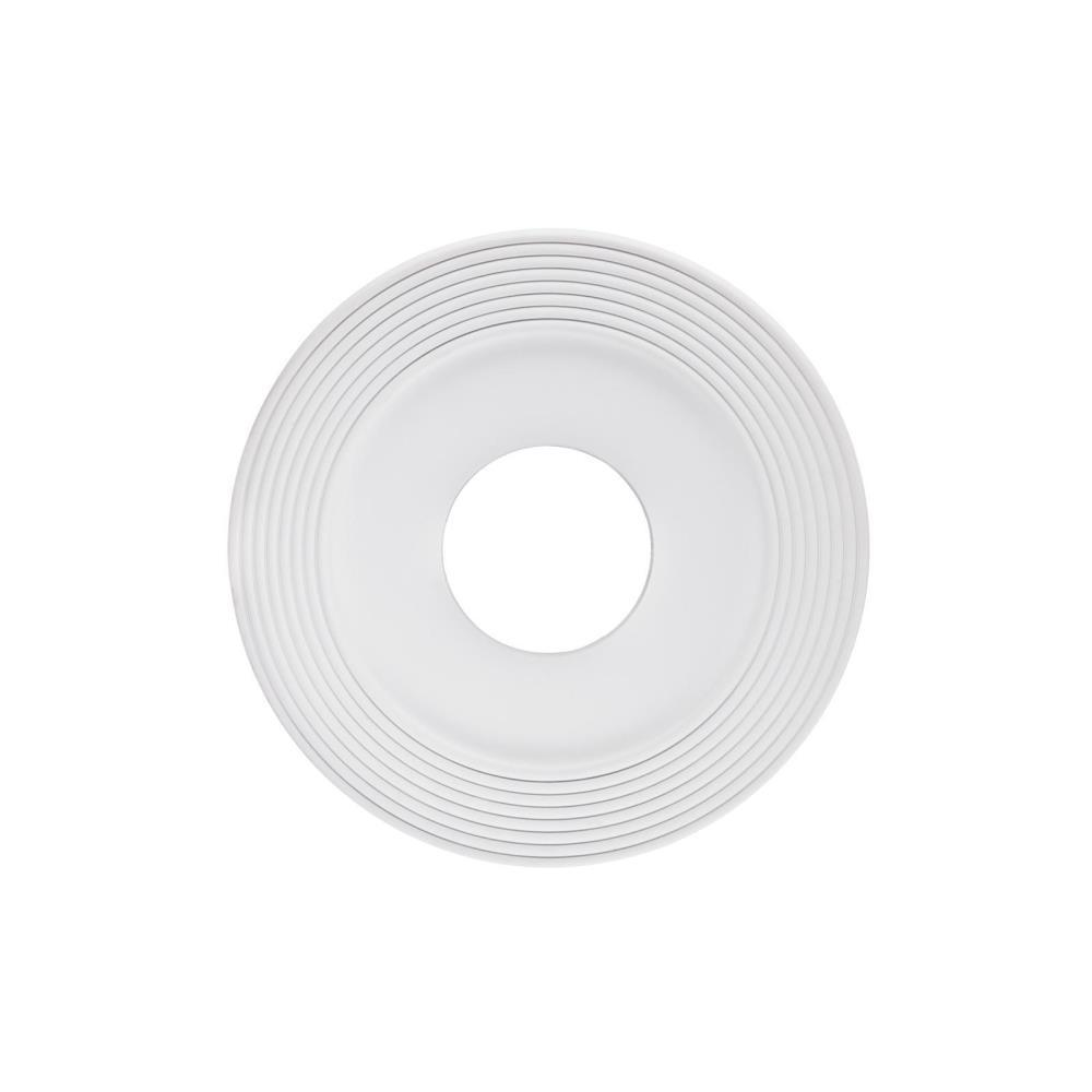 Westinghouse Saturn 12 In White Ceiling Medallion