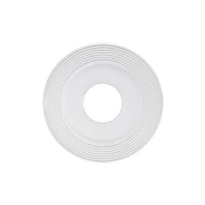 Saturn 12 in. White Ceiling Medallion