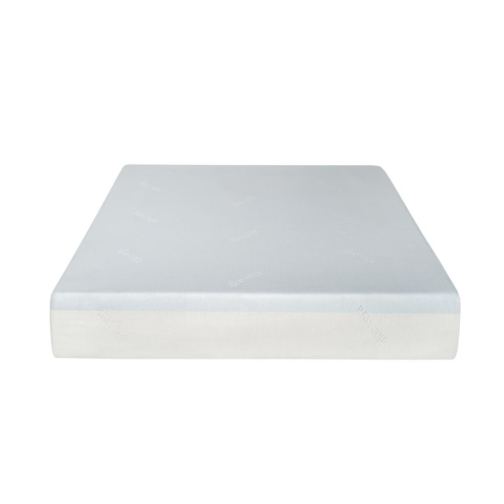 Super Divine Plush 10 in. California King Gel Foam Mattress