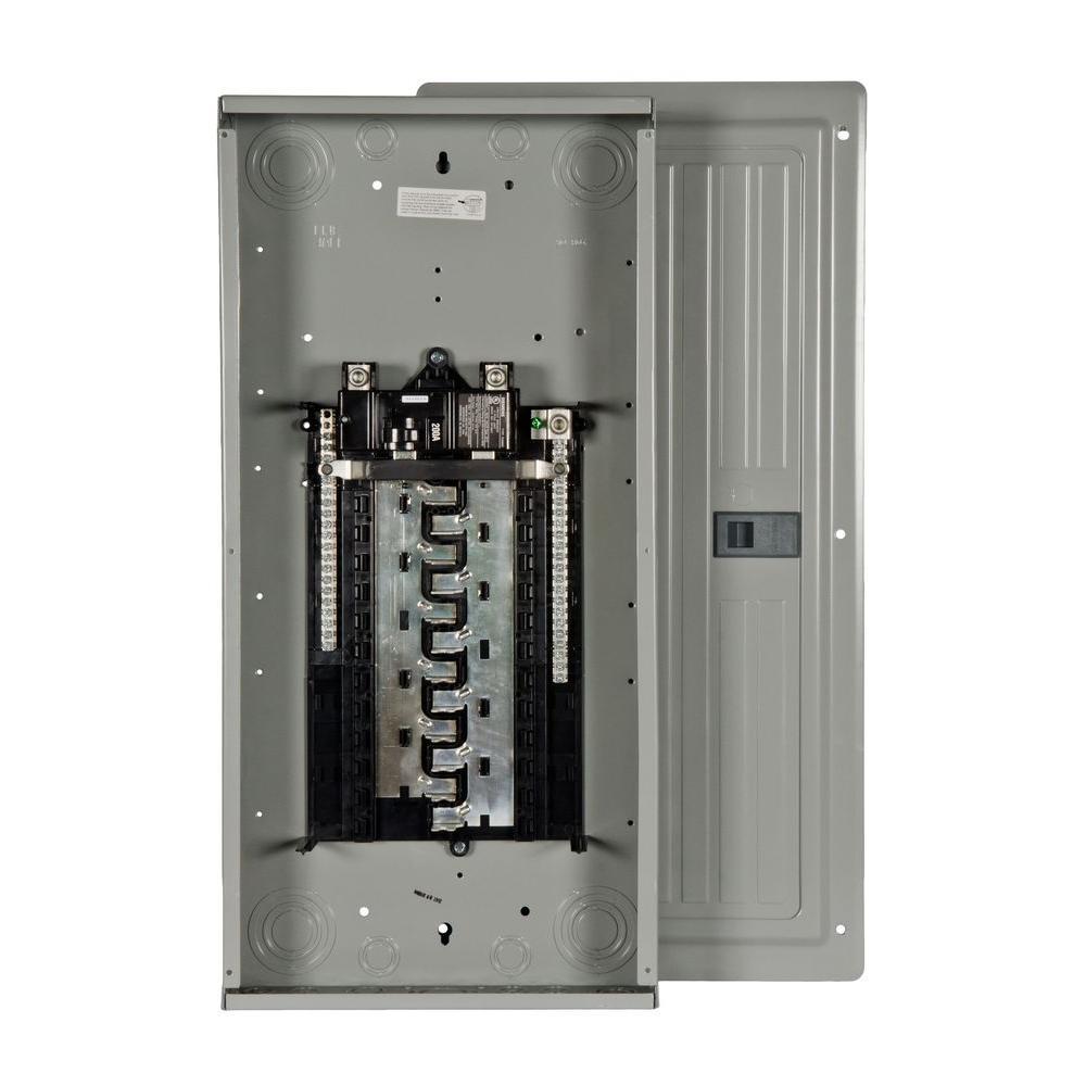 ES Series 200 Amp 24-Space 40-Circuit Main Breaker Indoor Load Center