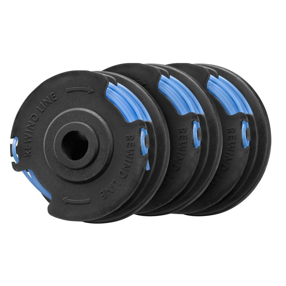 Homelite 0.065 in. Replacement Spool for Electric String Trimmer (3-Pack)