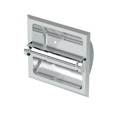 Recessed Toilet Paper Holder in Chrome
