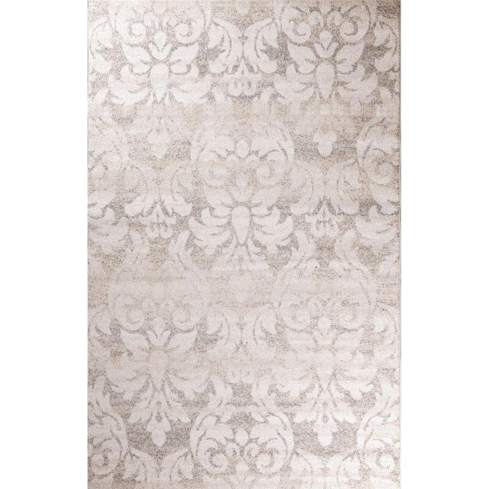 Casa Collection Majestic Ivory 3 ft. 3 in. x 4 ft.