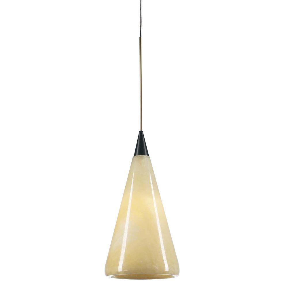 Plc Lighting 1 Light Oil Rubbed Bronze Mini Drop Pendant