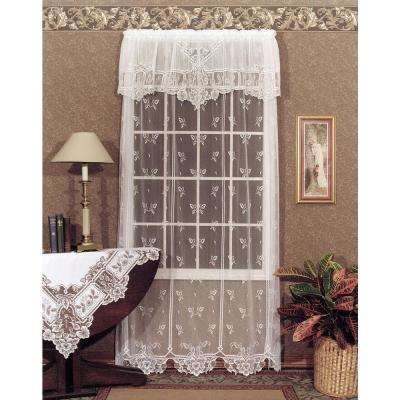 dining curtains white room solid for light curtain p flowing lace