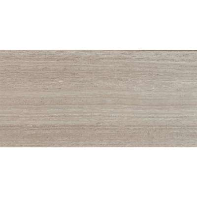 Mare Bianco 12 in. x 24 in. Glazed Polished Porcelain Floor and Wall Tile (16 sq. ft. / case)