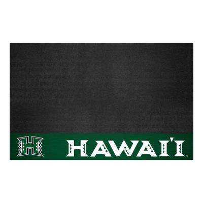 NCAA 26 in. x 42 in. University of Hawaii Grill Mat
