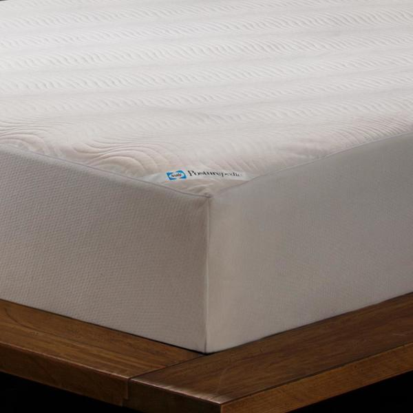 Sealy Cooling Comfort Waterproof Fitted Queen Mattress Protector